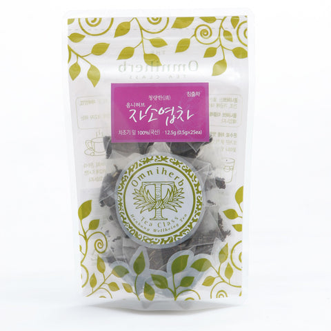 PERILLA FRUTESCENS TEA 자소엽 차 12.5g 25ea - MADE IN KOREA