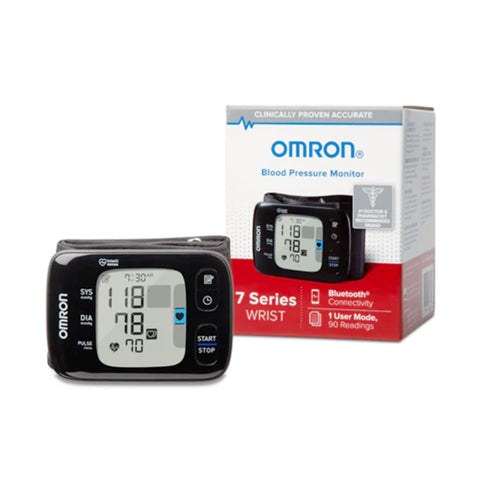 OMRON 7 SERIES DIGITAL WRIST BLOOD PRESSURE MONITOR