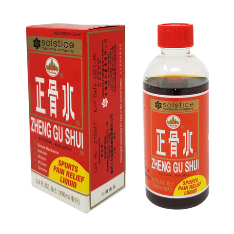 ZHENG GU SHUI EXTERNAL ANALGESIC LOTION - 3.4 FL OZ