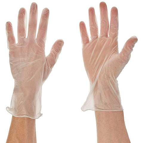 EXAM VINYL GLOVES