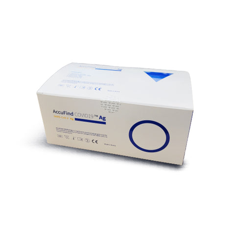 ACCUFIND COVID 19 RAPID TEST KIT - NO RETURN, EXCHANGE AND REFUND
