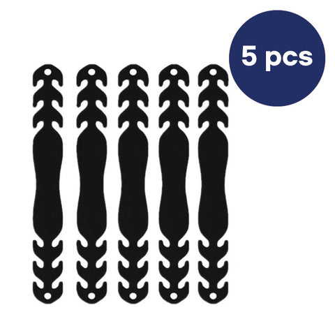ADJUSTABLE MASK EAR EXTENSION CORD 5 PCS - BLACK