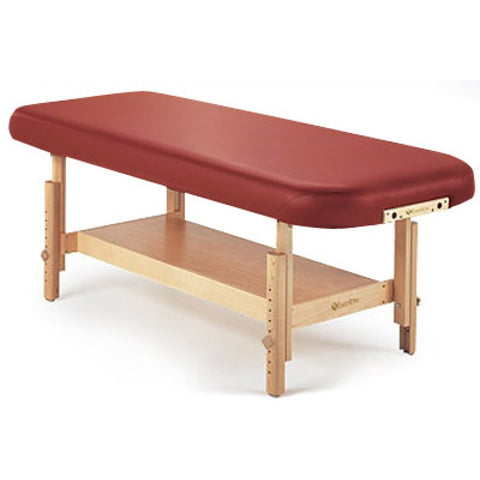 "SEDONA STATIONARY SPA & MASSAGE TABLE WITH SHELF BASE 32"" WIDE"