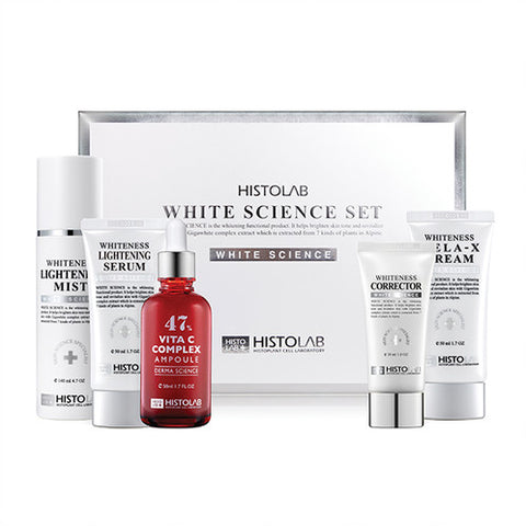 WHITEING SCIENCE SET 미백치료