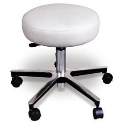 CHROME DOCTORS STOOL W/O BACK