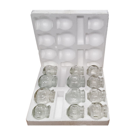 FIRE GLASS CUPPING SET