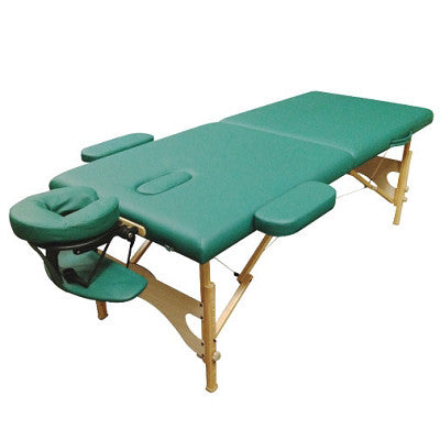 PORTABLE MASSAGE TABLE WITH ARMREST & HEADREST