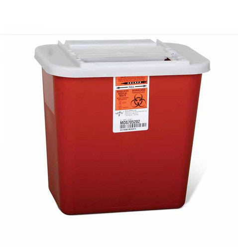 LOCK UP SHARPS CONTAINERS   2 GALLON