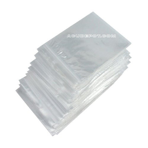 "CLEAR ZIP LOCK 2"" X 3"""