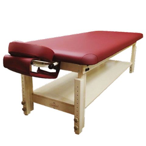 MASSAGE TABLE WITH ADJUSTABLE HEIGHTS