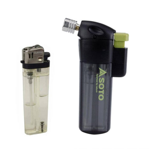 POCKET TORCH W/LIGHTER