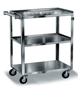 UTILITY STAINLESS STEEL CART WITH HANDLE
