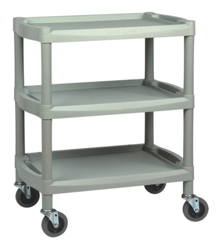 Y201B PLASTIC CART - GRAY