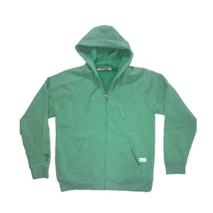 Northern Lights Zip Hoodie (Green Aurora)