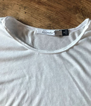 Oreti Fashion Tee (Pearl White)