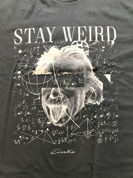 Stay Weird (Grey)
