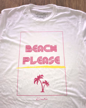 Beach Please (White)