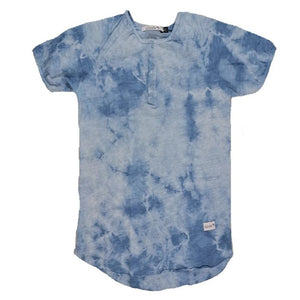 Pacific Henley Fashion Tee (Sky Blue)