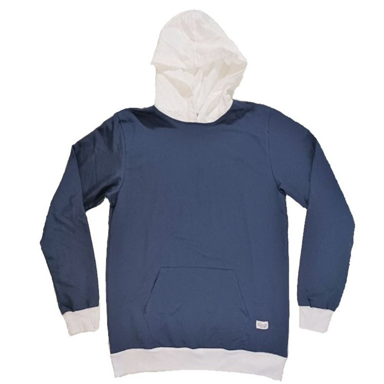 Beach House Hoodie (Navy/White)