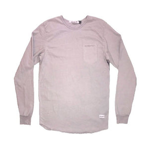 Cantata Slit Pocket Long Sleeve (Grey)