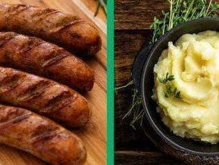 Greensbury traditional bangers and mash recipe