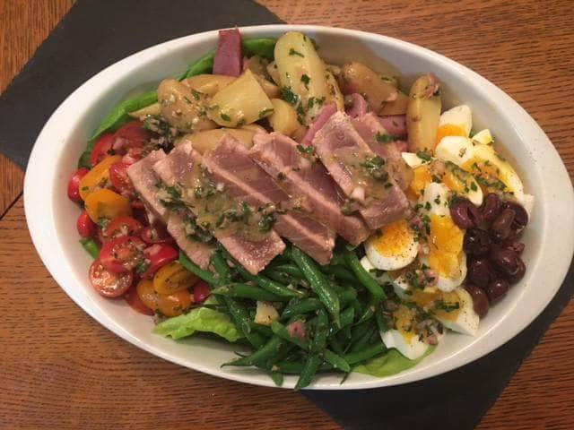 Chef Thomas Kaylor's Salad Nicoise Recipe