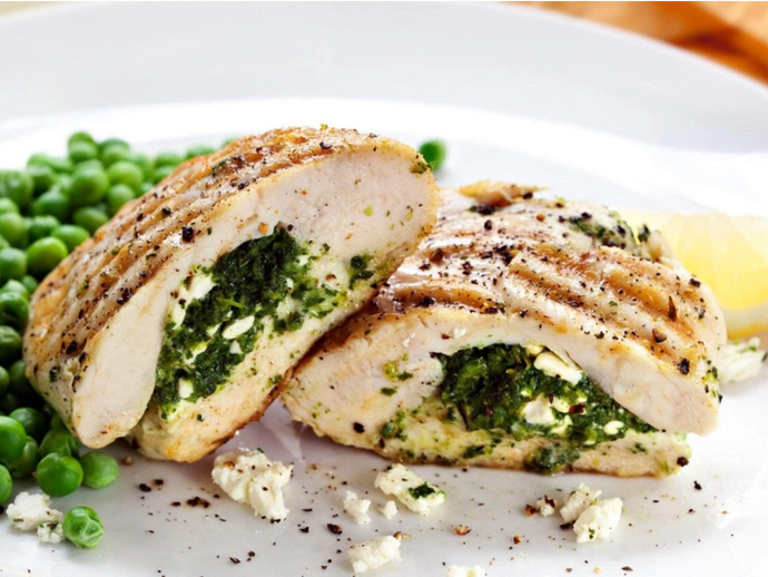 Spinach Stuffed Chicken Breast by Colorful Foodie