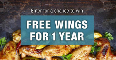 Win a year's supply of Organic Chicken Wings