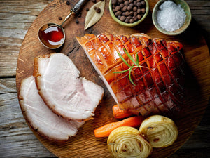 Cider-Brined, Mustard-Glazed Pork Loin Recipe