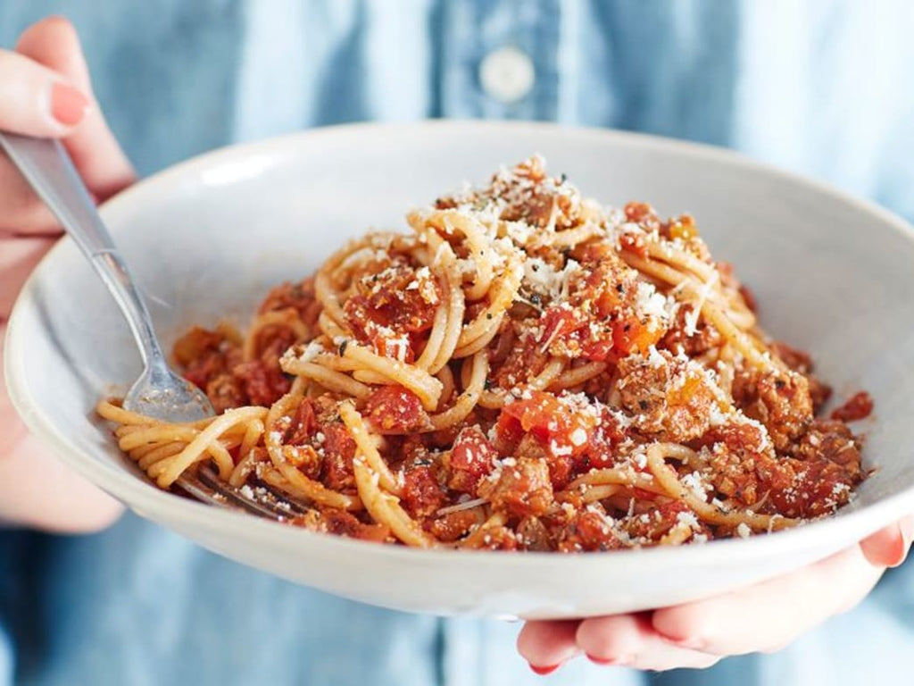 Enjoy This Protein-Packed Turkey Spaghetti Bolognese Recipe