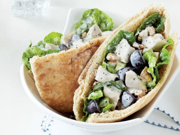 Crunchy Chicken Salad Pita