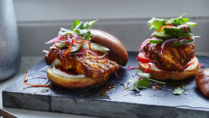 Delicious Tandoori Cod Burger Recipe From Joe Wicks's 30-Minute Meals