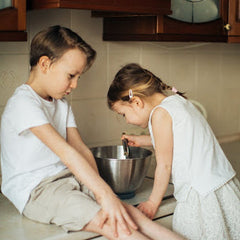 Greensbury blog 7 ways to get kids involved in the kitchen--introduce age appropriate tasks