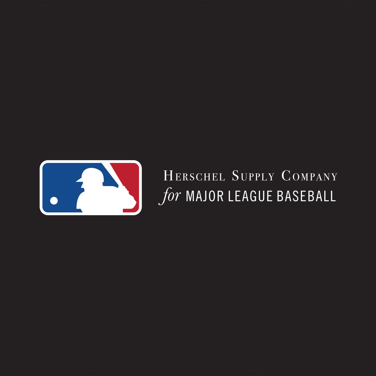 Herschel Supply Company for Major League Baseball