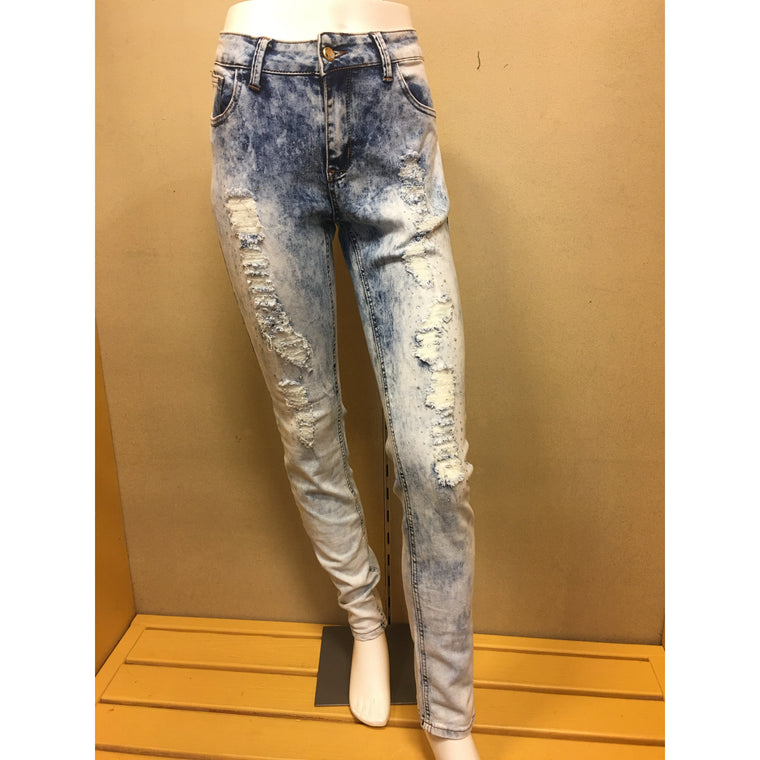Light Blue Rebel Love Jean