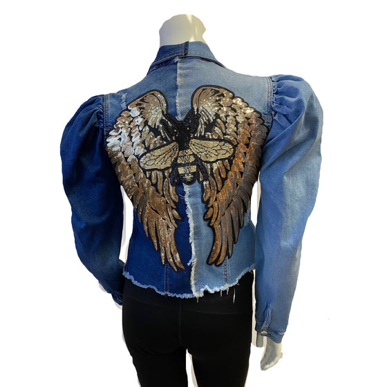 Bee Angel Denim Jacket