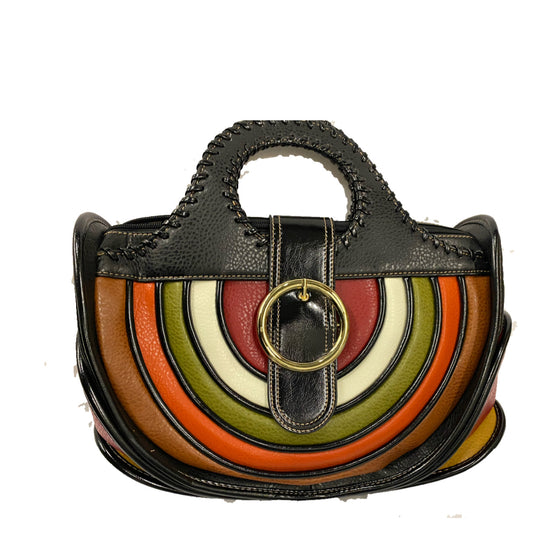 Rainbow Black Purse