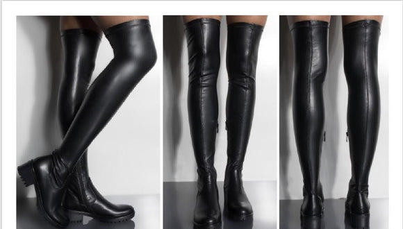 Bossy Thigh High Boots