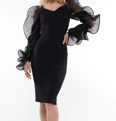 Black Butterfly Dress