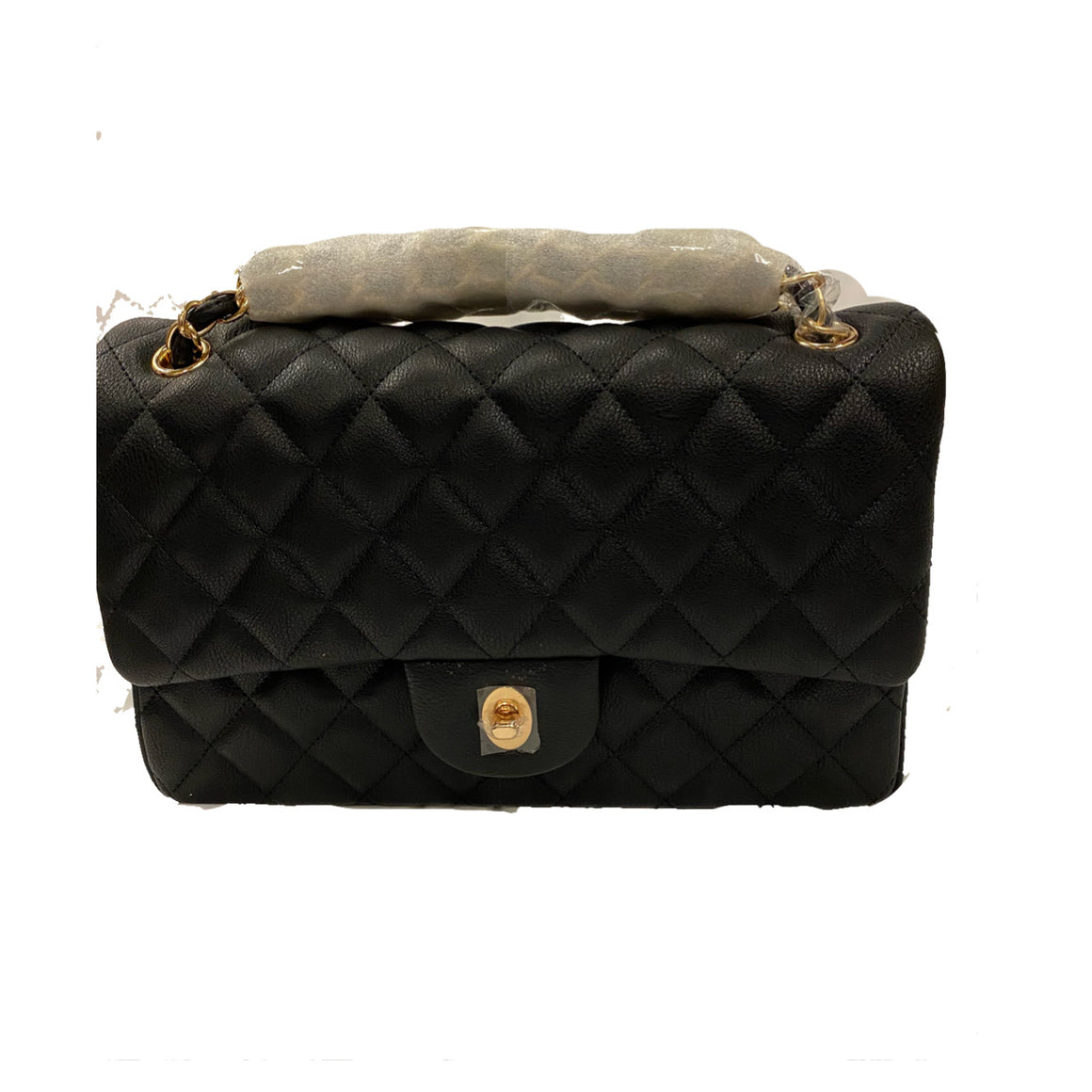Chevon Black Purse