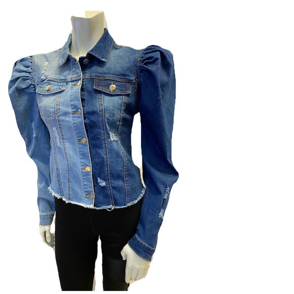 Bossy 2 Face Denim Jacket