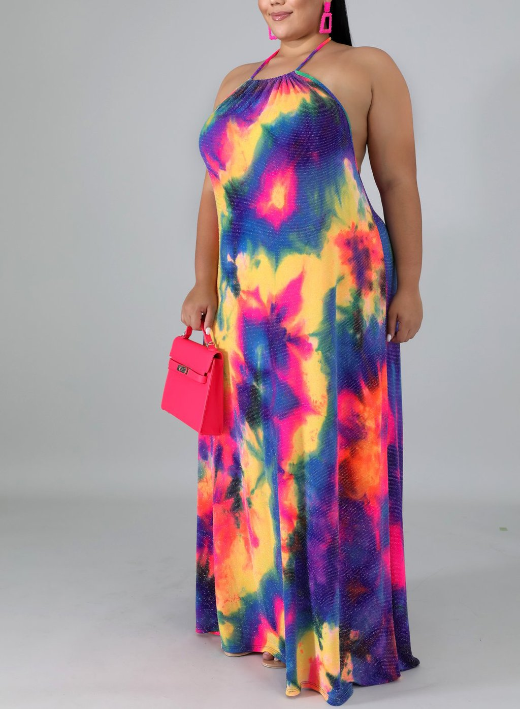 Color Burst Open Maxi
