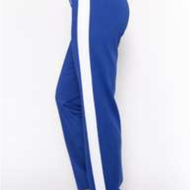 Royal Blue Sports Joggers