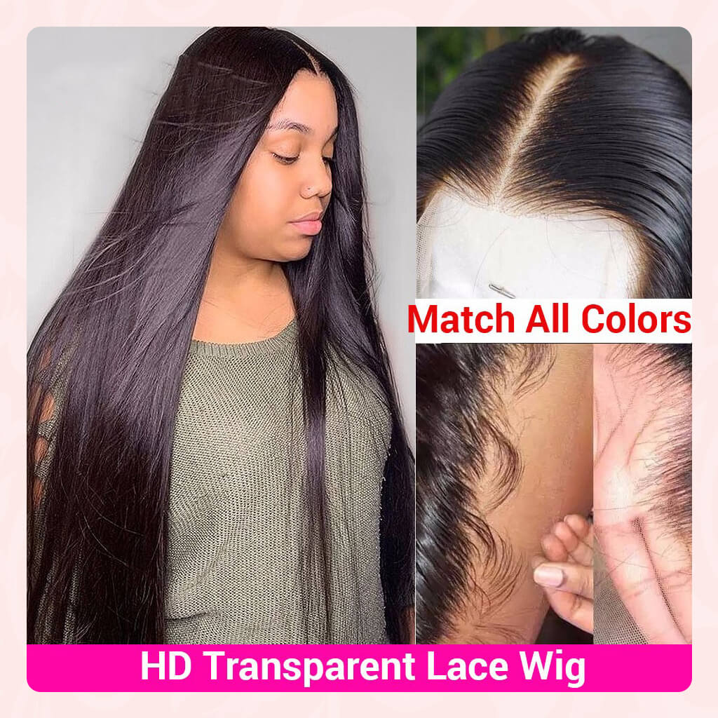 13X4 HD Undetected Swiss Lace Front Wig