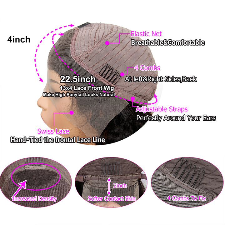 lace front human hair wig store online