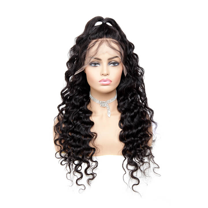 fake scalp method lace frontal wigs