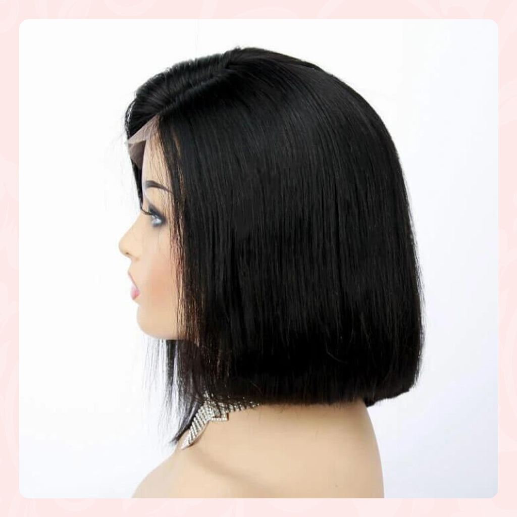 Bob Lace Wig With Baby Hair 4x4 Bob Lace Closure Wigs Jessie S Selection