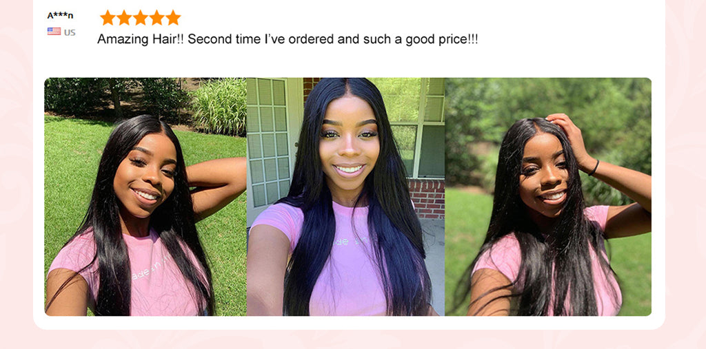 5X5 Lace Closure Wig Brazilian Straight Human Hair Lace Wigs Pre Plucked With Baby Hair