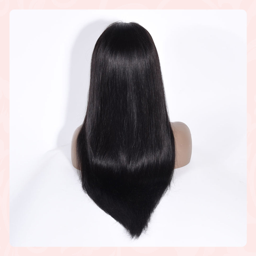 5X5 Lace Closure Wig with 100% human hair