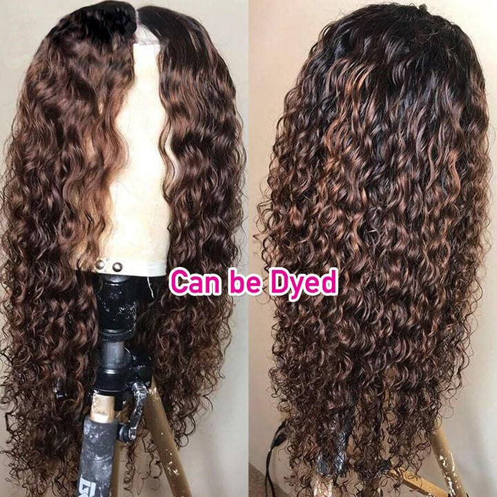 curly lace front human hair wigs for black women